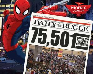 Comicon attendence 75,501